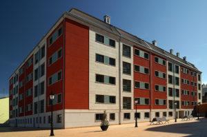 """Edificio """"Paxariños"""". Construcciones Neira Pérez. Lugo"""