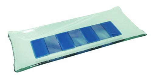 Bandeja rectángulos unidos color 27x12 cm. (Medidas aproximadas)