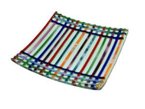Centro líneas multicolor
